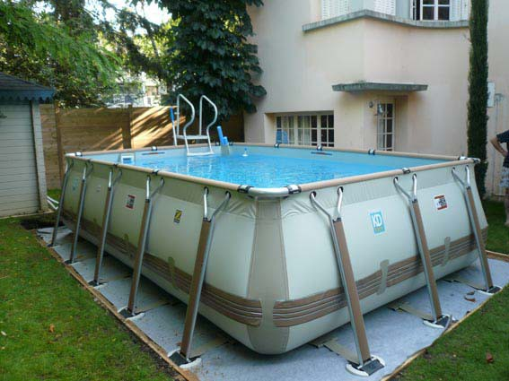 Piscine hors sol basse normandie delalande piscines for Installation piscine