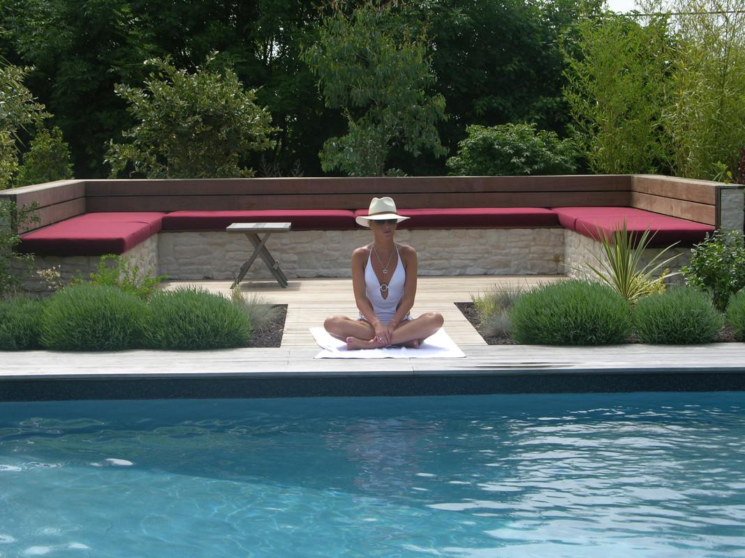 Construction de piscine dans le calvados deauville for Piscine zen