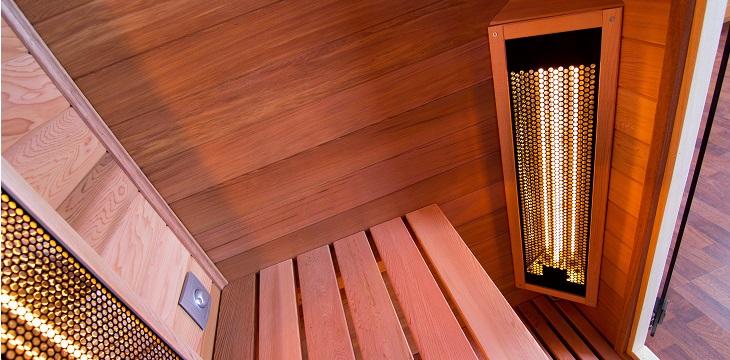 sauna infrarouge metteurs delalande piscines. Black Bedroom Furniture Sets. Home Design Ideas