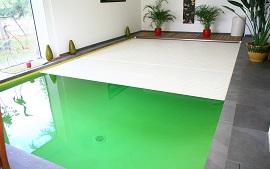 Nos piscines int rieures delalande piscines - Piscine eau trouble verte ...